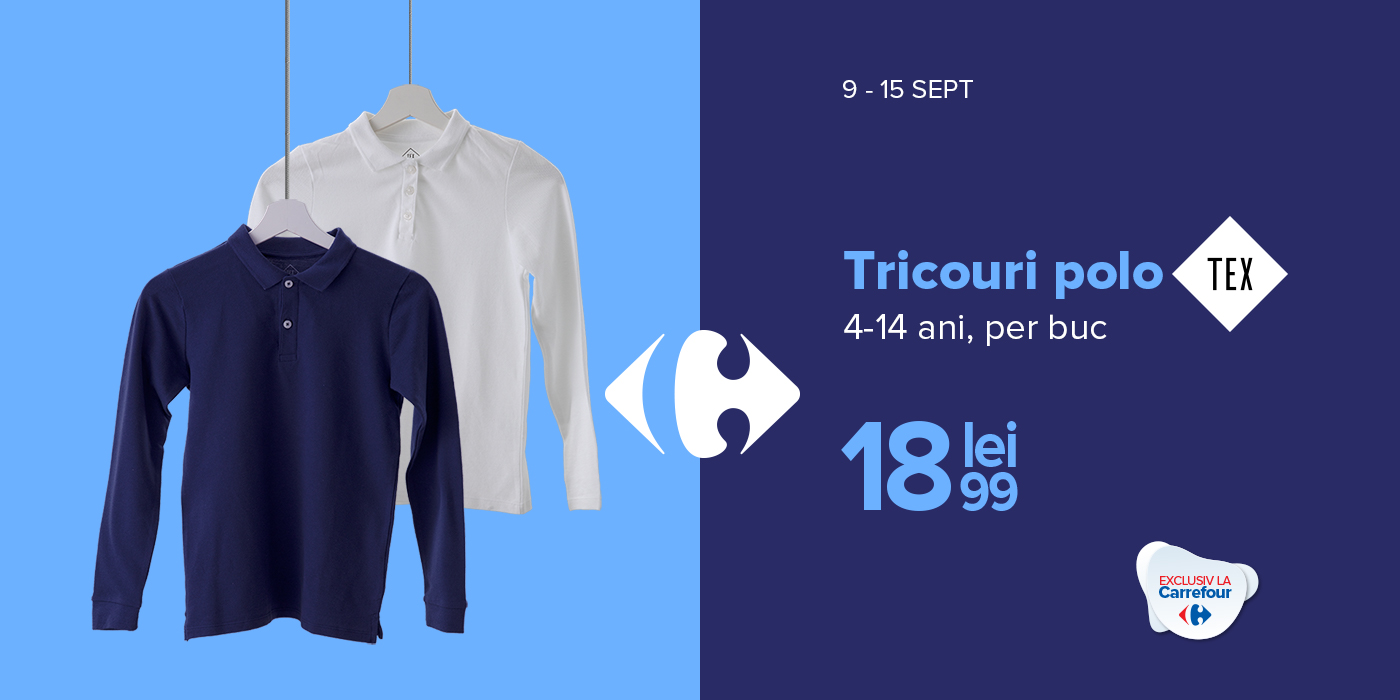 Tricouri Polo TEX
