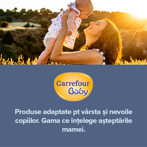 Produse adaptate pt varsta si nevoile copiilor.  Gama ce intelege asteptarile mamei