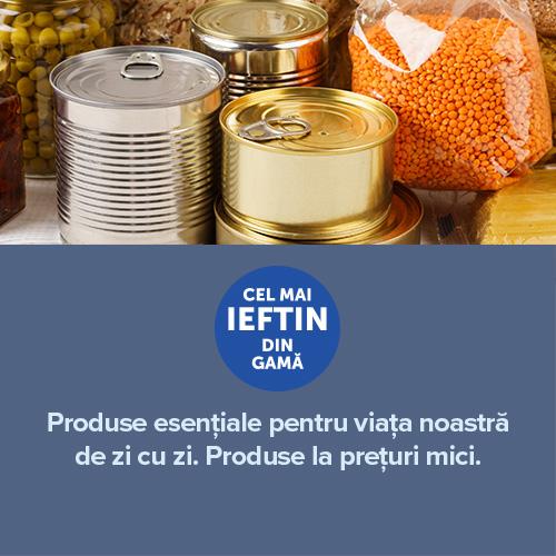 Produse esențiale pentru viața noastră de zi cu zi                                                                                               Produse la prețuri mici