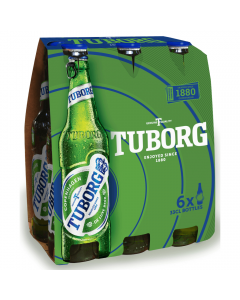 Bere blonda Tuborg 6x0.33L