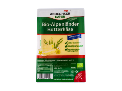 Branza bio felii Andechser Natur 150g
