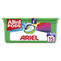Detergent capsule Ariel All in One PODS Touch of Lenor 15 spalari