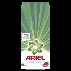 Detergent automat pudra Ariel Whites&Color 10 Kg, 100 spalari