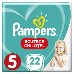 Scutece chilotei Pampers Pants, 22 bucati, 5 Junior, 12-18 kg