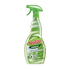 Solutie de curatat geamuri Nufar Verde, 500 ml