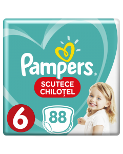 Scutece chilotel Pampers Pants, 88 bucati, 6 Extra Large, 16+ kg