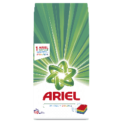 Detergent automat pudra Ariel Whites&Color 11 Kg, 110 spalari