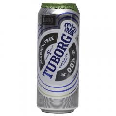 Bere fara alcool Tuborg doza 0.5L