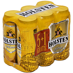 Bere blonda Holsten 6x0.5L (5+1)