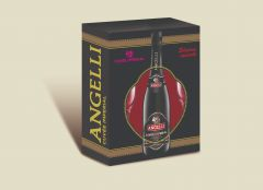 Pachet Angelli Cuvee Imperial 0,75 l cu 2 pahare