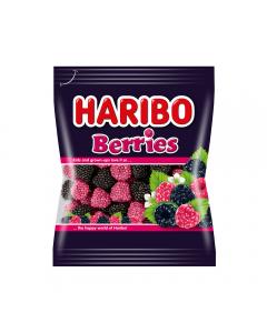 Jeleuri gumate cu gust de fructe Haribo Berries 100g