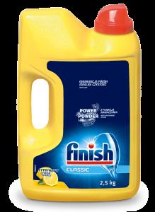 Detergent pudra pentru masina de spalat vase Finish 2.5 kg