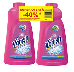 Lichid indepartare pete Vanish Oxi Action lichid 2 x 1L