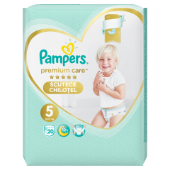 Scutece chilotel Pampers Premium Care Pants, Marime 5, 12-17 kg, 20 buc