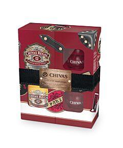 Pachet Whisky Chivas Regal 12 YO 40% vol. 0,7 l cu 2 pahare