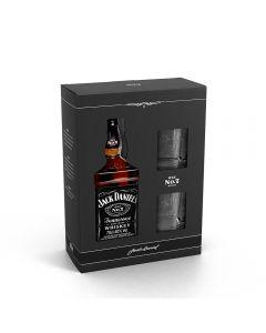 Pachet Whiskey Jack Daniel's 40% vol. 0,7 l cu 2 pahare