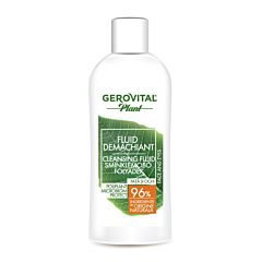 Fluid demachiant Poliplant Microbiom Protect Gerovital Plant 150ml
