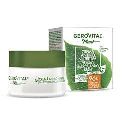 Crema antirid nutritiva Poliplant Microbiom Protect Gerovital Plant 50ml