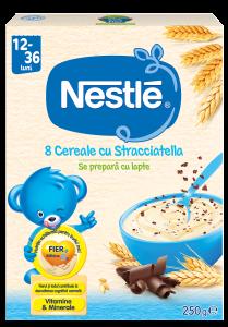 Cereale Nestle Stracciatella, 250g, de la 12 luni