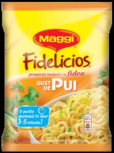 Maggi Fidelicios cu gust de pui 60g