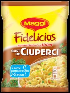 Maggi Fidelicios cu gust de ciuperci 60g
