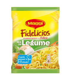 Maggi Fidelicios cu gust de legume 60g