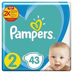 Scutece Pampers Active Baby Nou Nascut, Marimea 2, 4-8 kg, 43 buc