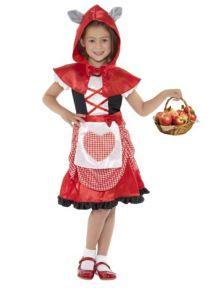 Costum Scufita Rosie copii   120 cm (5-6 ani)
