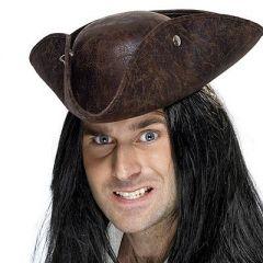 Palarie pirat tricorn deluxe