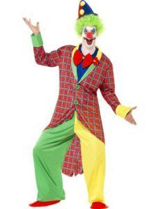 Costum clown adulti Circus   L