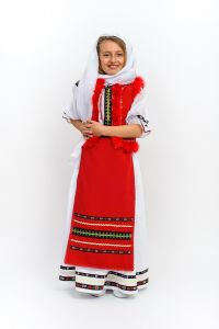 Costum popular fete Doina   115 cm (4-5 ani)