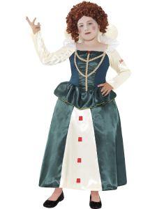 Costum epoca copii Elisabeta   130 cm (6-7 ani)