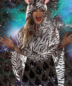Pelerina ploaie poncho Zebra