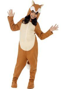 Costum carnaval animale Vulpe sau Vulpoi   140 cm (8-10 ani)