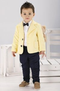 Costum botez sau ocazie baieti Napoli Junior   68 cm (4-6 luni)