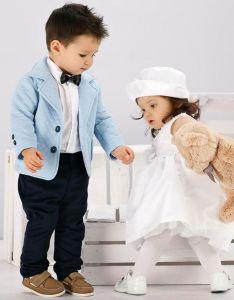 Costum botez sau ocazie baieti Ciel Junior   62 cm (2-4 luni)