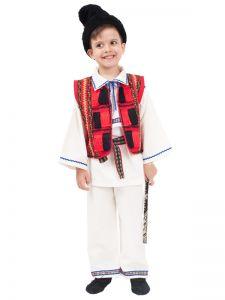 Costum popular baieti Vasile   140 cm (8-10 ani)