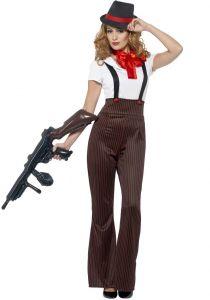 Costum gangster femei    M