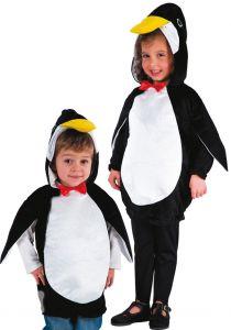Poncho pinguin copii