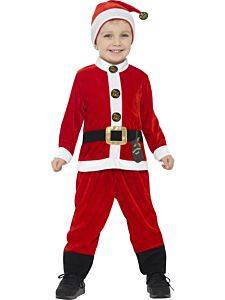 Costum Mos Craciun copii Junior   115 cm (4-5 ani)