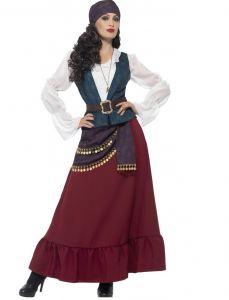 Costum pirat corsar dama   S