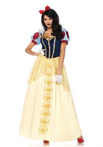 Costum Alba ca Zapada Royal Leg Avenue   S