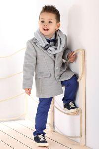 Palton stofa baieti Club Junior   115 cm (4-5 ani)