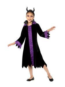 Costum Malefica copii   130 cm (6-7 ani)