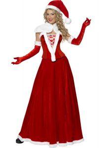 Costum craciunita adult corset   S