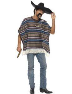 Costum poncho mexican autentic