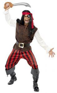 Costum pirat barbati    L