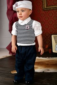 Costum ocazie baieti albastru cu vesta 4 piese   80 cm (10-16 luni)