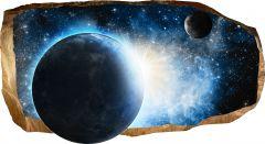 Fototapet 3D Startonight Cosmos, luminos in intuneric, 1.50 x 0.82 m