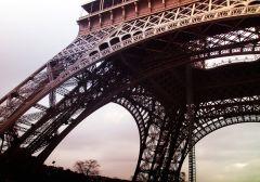 Fototapet Startonight Turnul Eiffel, luminos in intuneric, 1.83 x 1.28 m
